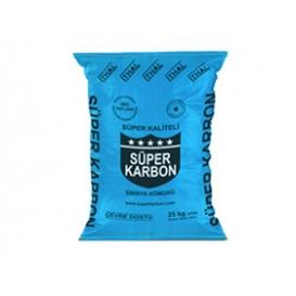 Süper Karbon Portakal Torba Kömür 25kg